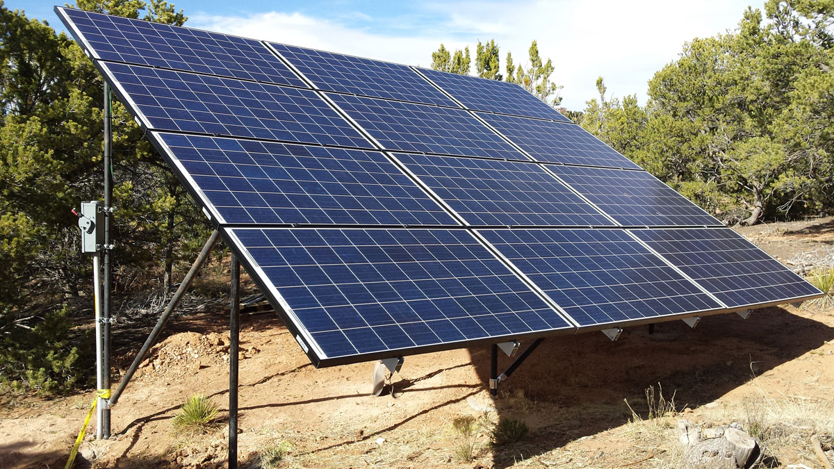 Santa Fe, NM: A 3 kW ground mount grid-tied solar array